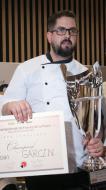 Yoan Garcin, champion de France 2017 de pizza