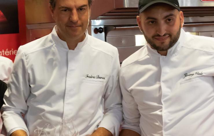 Jeremy Viale, champion de France et du monde de Pizza a due