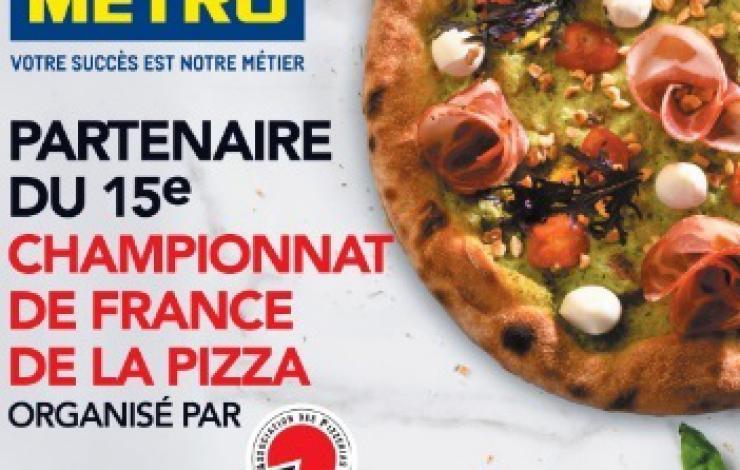 METRO, partenaire du 15e Championnat de France de la Pizza
