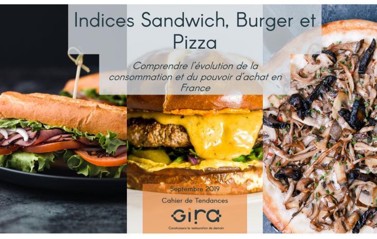 Découvrez les Indices Sandwich, Pizza et Burger