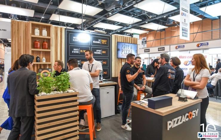 Pizza Cosy au Forum Franchise à Lyon le jeudi 17 octobre 2019
