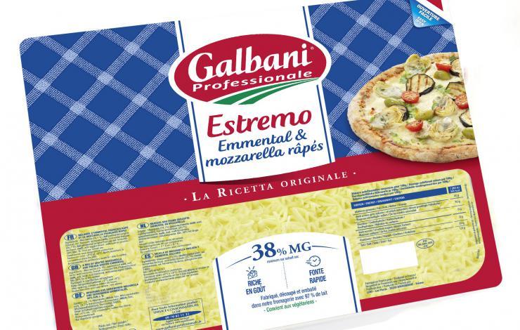 NOUVELLE RECETTE FROMAGE A PIZZA ESTREMO DE GALBANI PROFESSIONALE