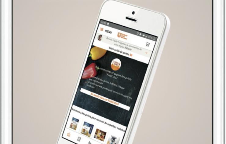 Unilever Food Solutions (UFS) lance son application mobile à destination des Chefs