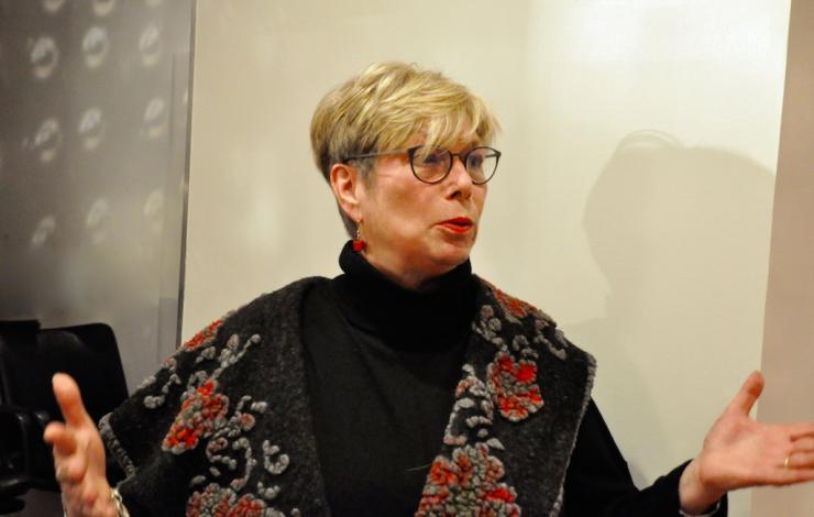Christine Marzani, promotrice du vin naturel italien en France
