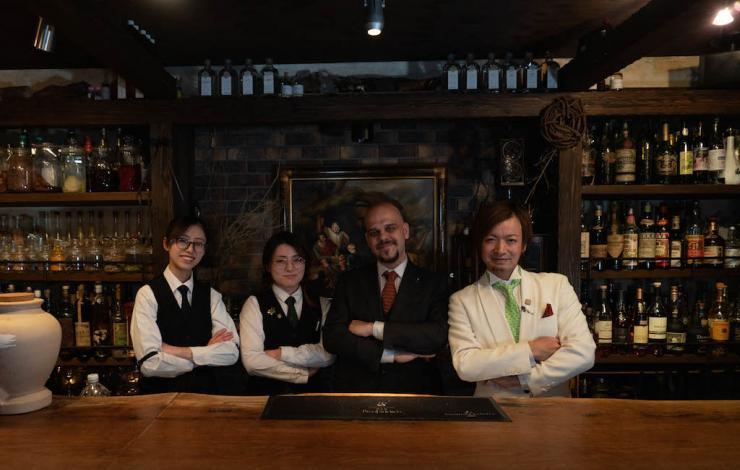 La mixologie italienne à Tokyo