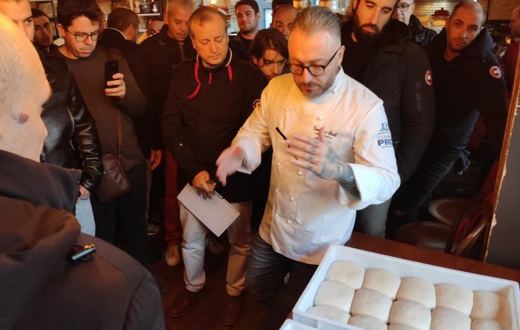 Master Class pizza napoletana 8 janvier 2020 à Paris