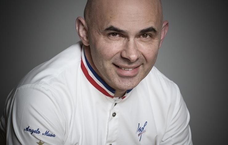 Angelo Musa, gourmand pâtissier franco-italien