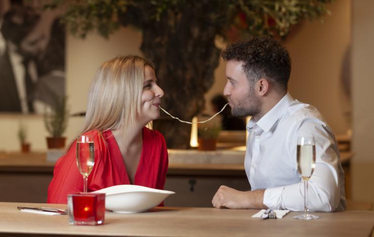 Vapiano organise un italian kiss challenge pour la saint Valentin