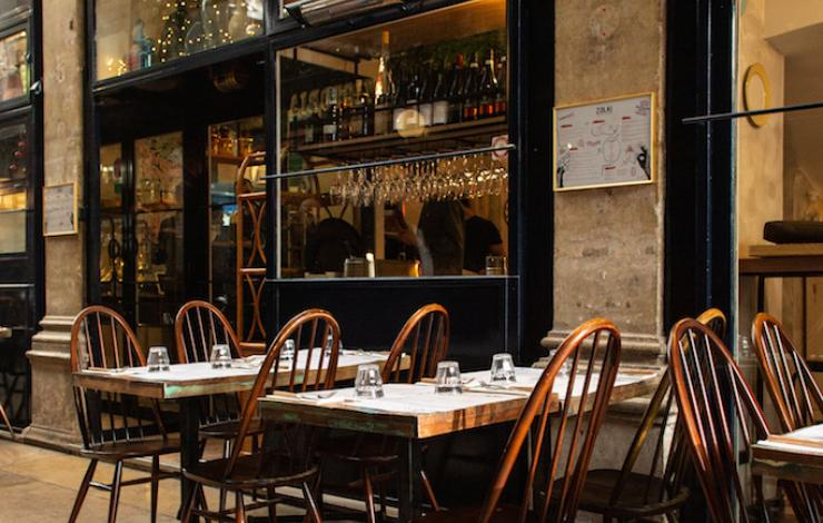 Zola, nouvelle table italienne du passage des panoramas à Paris