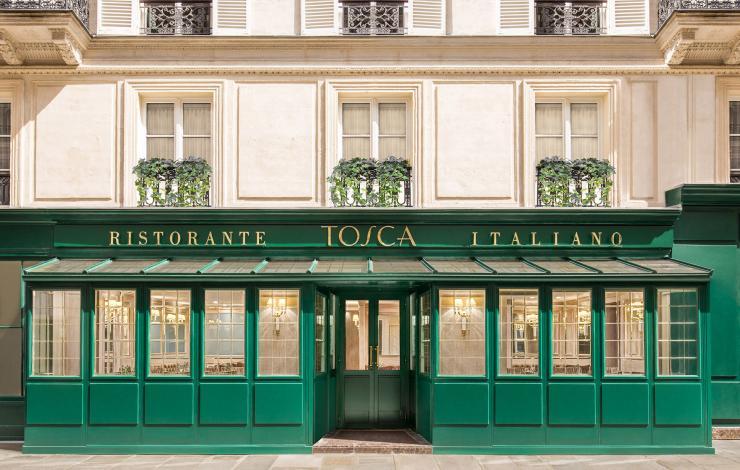 Nouveau chef chez Tosca de l'hôtel Splendide Royal à Paris