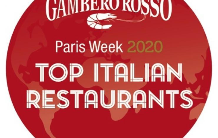 Gambero Rosso : 3e édition du guide digital des meilleurs restaurants italiens à Paris et dans le monde