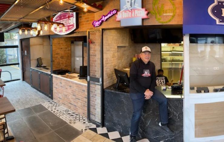 La Boîte à Pizza crée son food hall à Toulouse