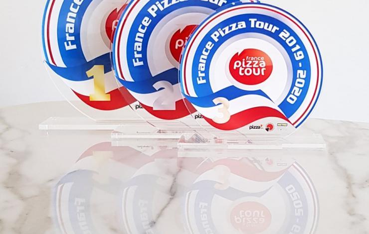 Etapes de Lomme et Montpellier du France Pizza Tour