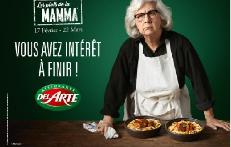 Les plats de la Mamma par Del Arte