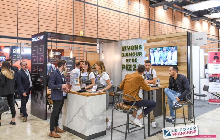 Pizza Cosy au Franchise Expo Paris