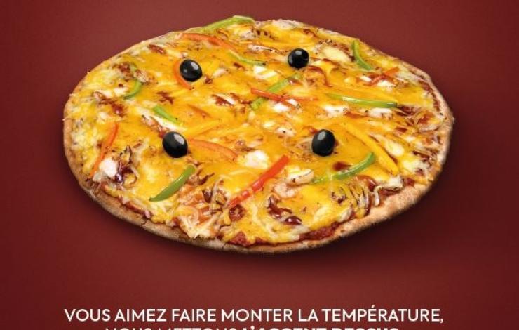 Une nouvelle pizza inédite chez Tutti Pizza