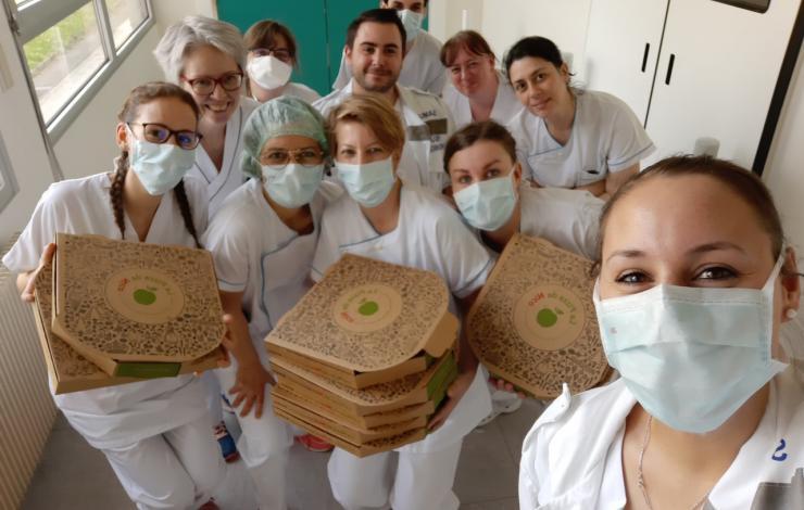 la Pizza de Nico s'engage avec des actions solidaires face au COVID19