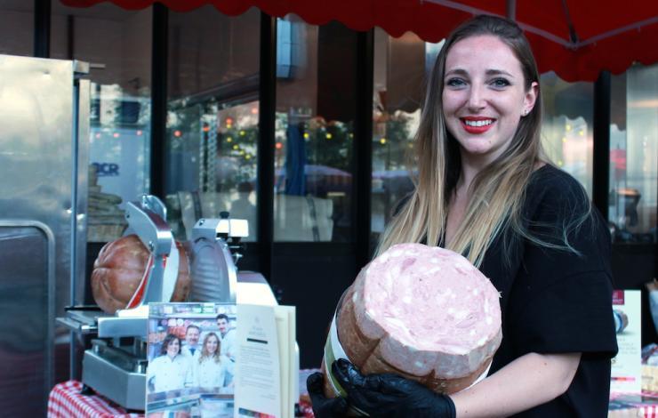 Simona Scapin : la tradition de la mortadella