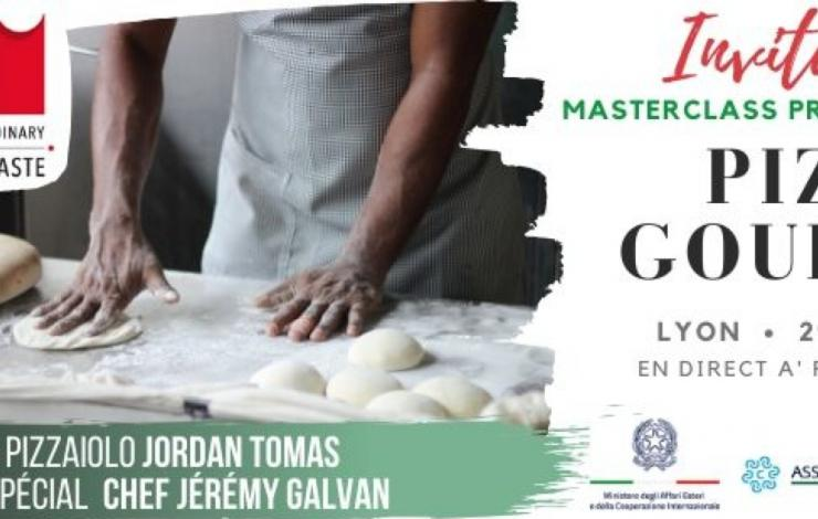 Masterclass pizza gourmet lundi 29 juin à partir de 10h