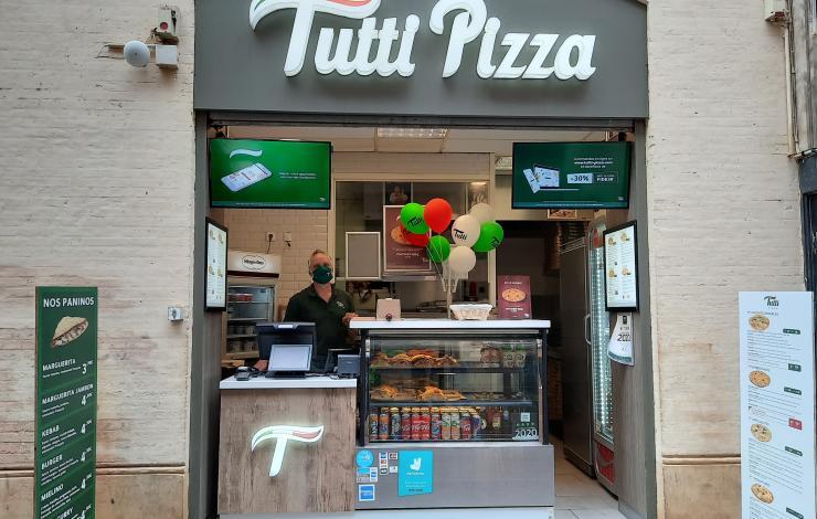 Tutti Pizza renouvelle le design des points de vente