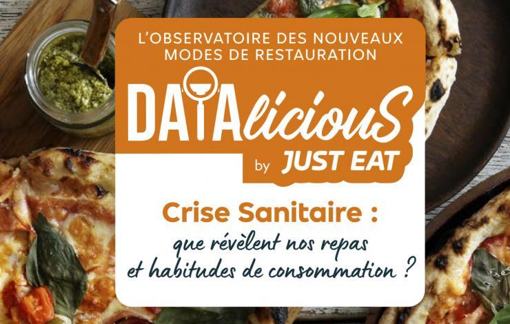 La pizza, Reine des repas livrés en 2020 selon Datalicious by Just Eat