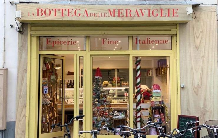 À La bottega delle meraviglie l'Italie gourmande se raconte