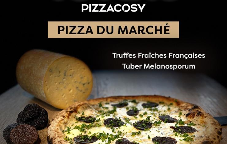 Pizza Cosy fête ses 10 ans avec une pizza à la truffe