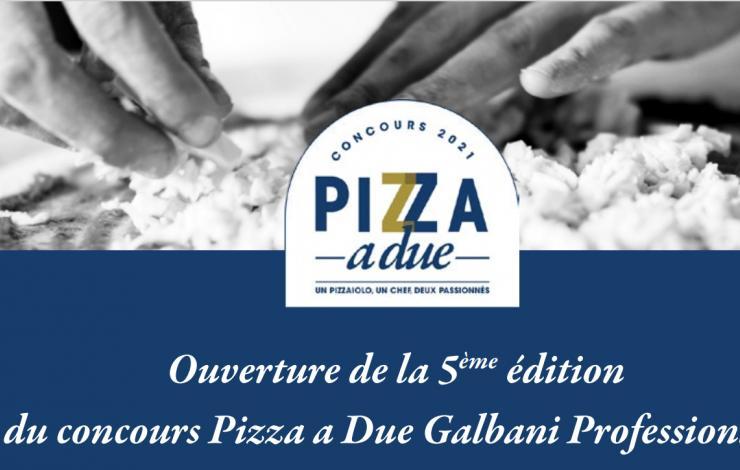 Concours Pizza a Due Galbani Professionale: focus sur le règlement