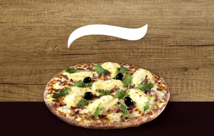 Tutti Pizza lance La Marcelline, la pizza au St Marcellin IGP en édition limitée