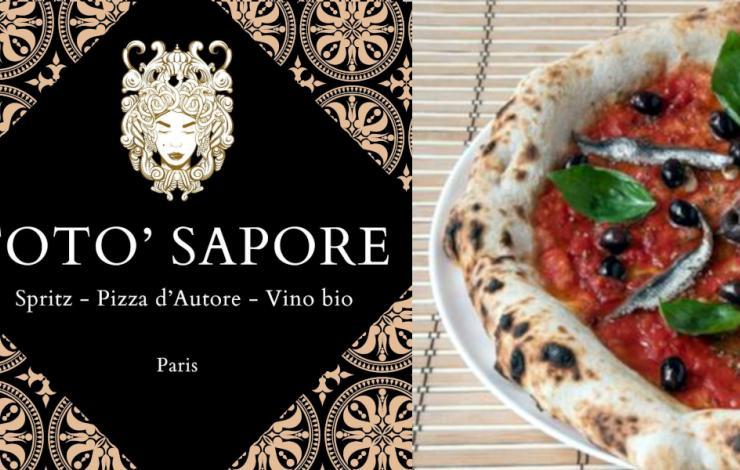 Toto' Sapore Paris, pizza d'autore près de République