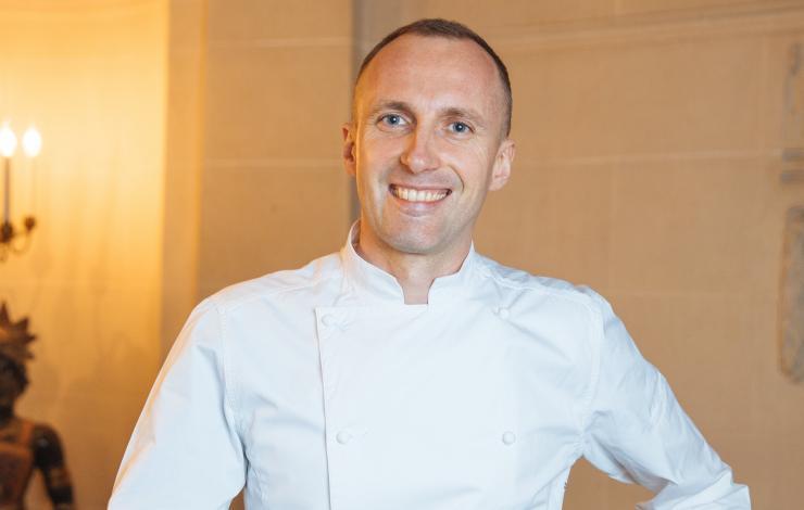 Giuliano Sperandio à la tête des cuisines du Taillevent
