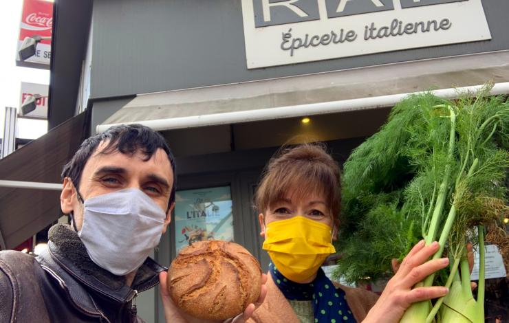 Le pain Esmeralda, une idée de Adriano Farano et Alessandra Pierini