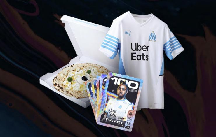 Uber Eats & l'OM lancent l'opération Supplément Marseille
