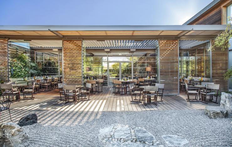 Le restaurant du Jiva Hill Resort passe sous pavillon italien