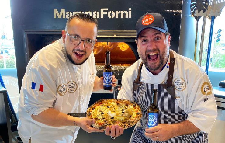 Chicand'zza : la nouvelle collab' Pizza Cosy x Chicandier