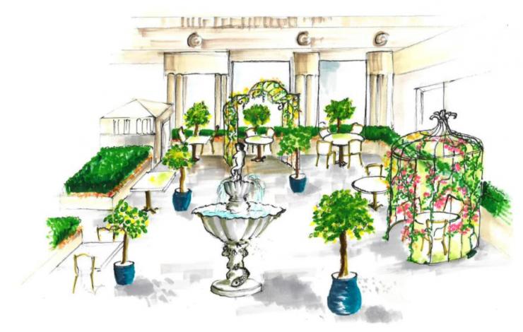 La Piazzetta du Park Hyatt Paris-Vendôme : une terrasse style Dolce Vita