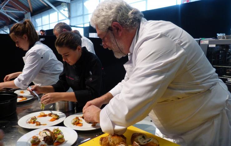 Cook'n Cœur le concours culinaire au profit des Restos du Cœur