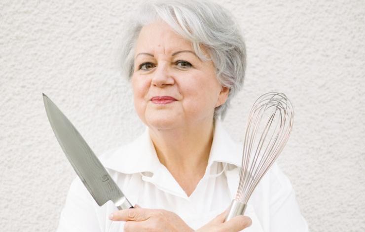 Elisabeth Scotto, s'amuser à cuisiner