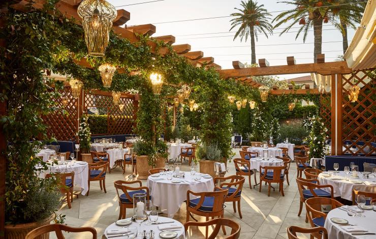 Le légendaire Hôtel Cipriani inaugure son restaurant à Saint Tropez