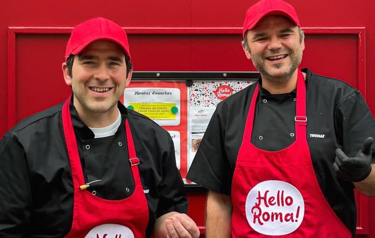 Avec Hello Roma !, la pinsa débarque à La Roche-sur-Yon