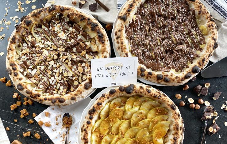 Pizza Cosy mise sur la pâte à tartiner d'un Maître Artisan Chocolatier