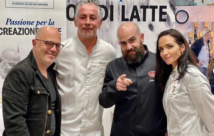 Caroline Maya et Alain-Patrick Fauconnet remportent le concours Pizza a due