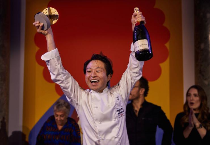 Yuge Keita, Master of Pasta Barilla 2019