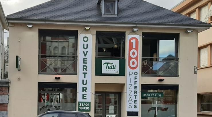 Tutti Pizza ouvre à Lourdes