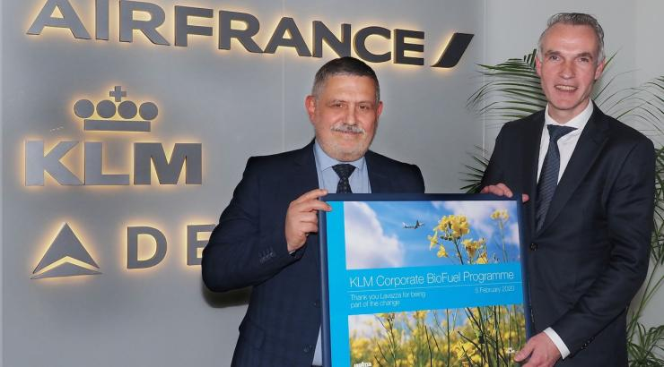 Lavazza se joint au programme Corporate BioFuel de KLM