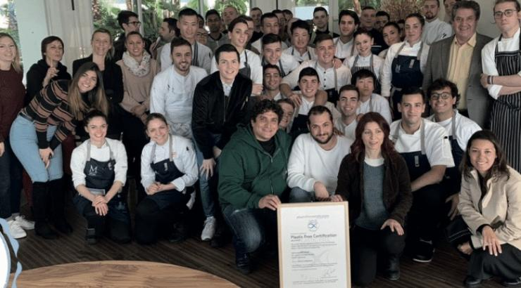 Le Mirazur, 1er restaurant « plastic free » au monde