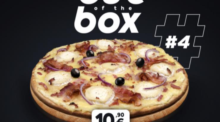 Tutti Pizza s'adapte et lance une nouvelle pizza 100 % digitale