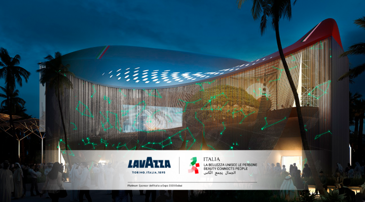 Lavazza porte le café italien à l'expo de Dubaï