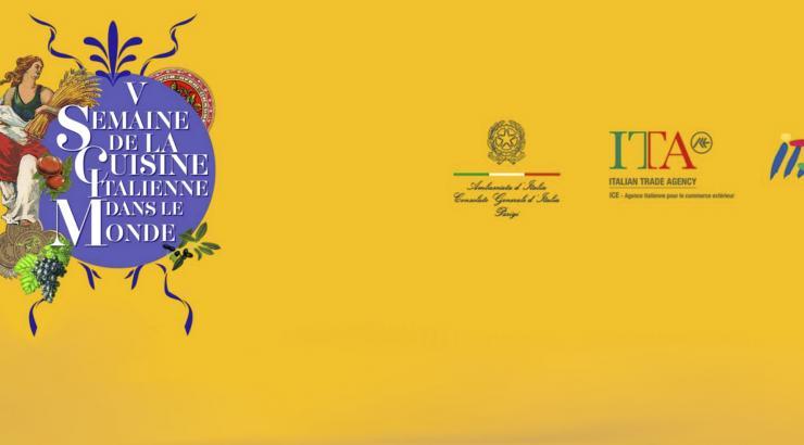 5ème Semaine de la Cuisine Italienne dans le Monde