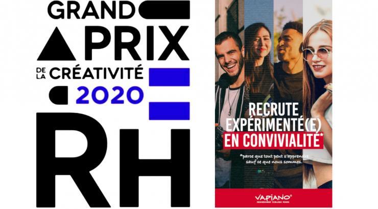 Vapiano gagne le Grand Prix de la Créativité RH 2020